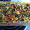 Fully loaded potato casserole