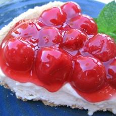 Cherry-O-Creme Pie