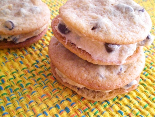 Chocolate Chip Cookie Sandwich Cookies
