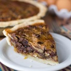 Toffee Chocolate Pecan Pie