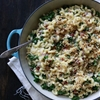 Baked White Cheddar Mac n Cheese with Kale and Baconn
