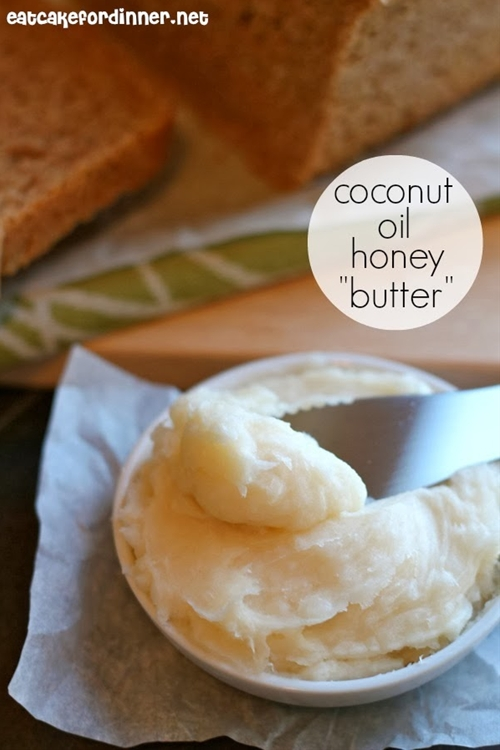 "Coconut Oil Honey ""Butter"""
