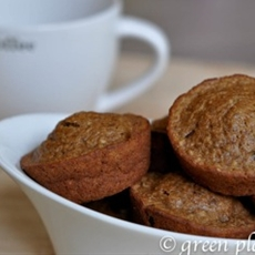 Dark Chocolate Coffee Chia Muffins
