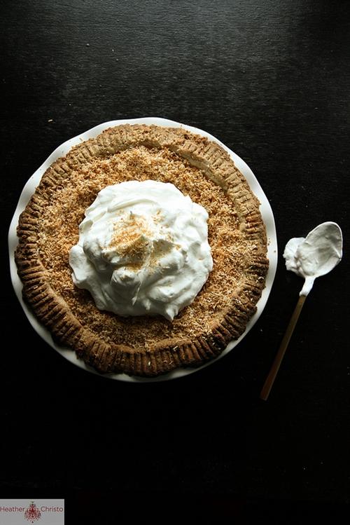 Coconut Pumpkin Pie