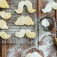 Lemon Cornmeal Sugar Cookies
