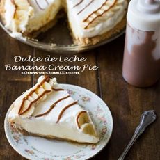 Dulce De Leche Banana Cream Pie