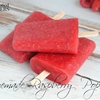 Easy Homemade Raspberry Popsicles