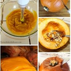 How to Roast a Pumpkin and How to Make Pumpkin Puree