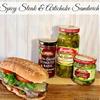 Spicy Steak and Artichoke Sandwich