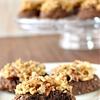 Dairy-Free German Chocolate Cookies made with Silk Vanilla Almondmilk