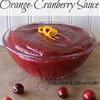 Homemade Orange-Cranberry Sauce