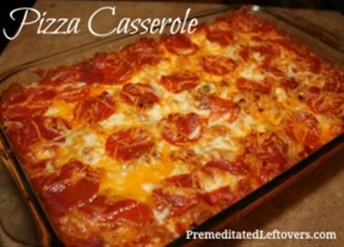 Pizza Casserole Recipe recipe | Chefthisup
