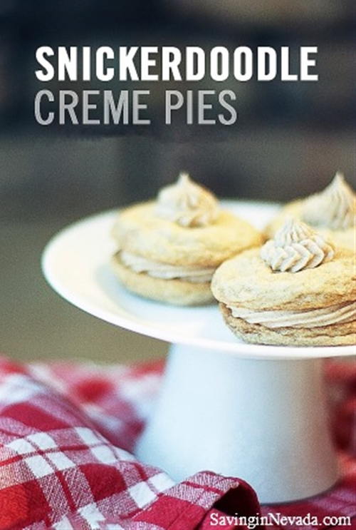 Snickerdoodle Cream Pies
