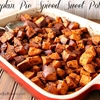 Pumpkin pie spiced sweet potatoes recipe