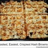 Fast and Easy Recipe for Crispy Hash-browns