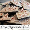 Easy Peppermint Bark Recipes using Candy Canes