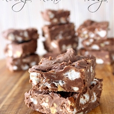 Rocky Road Fudge Recipe