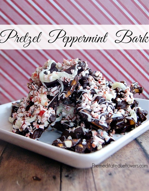 Pretzel Peppermint Bark