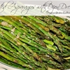 Roasted Asparagus with Dijon Dressing