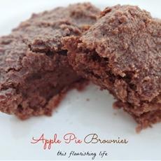 Apple Pie Brownies