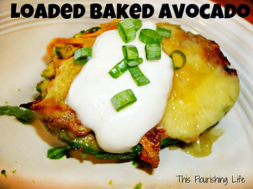 Loaded Baked Avocado