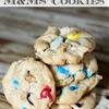 Springtime M&Ms Cookies