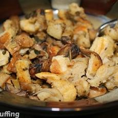 Sourdough Mushroom Stuffing