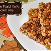 Pumpkin Peanut Butter Cereal Bars