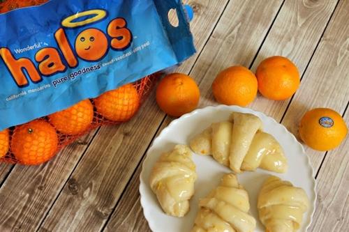 Mandarin Orange Sweet Rolls