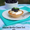Ricotta Cheese Tart with Honey and Fresh Blackberries