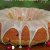 Cranberry Orange Bundt Cake with White Chocolate Glaze