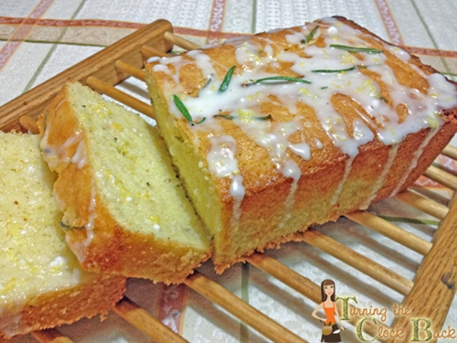 Lemon and Rosemary Olive Oil Cake