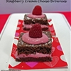 Raspberry Creamcheese Brownies