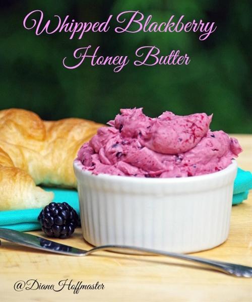 Whipped Blackberry Honey Butter