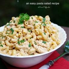 Chicken Taco Ranch Pasta Salad