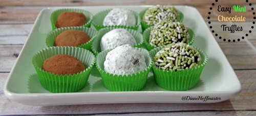 Easy Mint Truffle Recipe