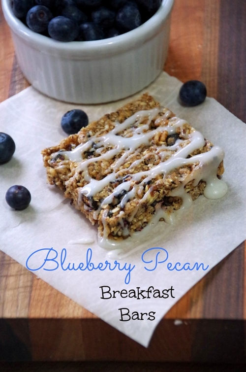 Blueberry Pecan Breakfast Bar