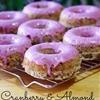 Cranberry Almond Donut