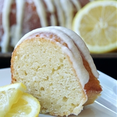 Homemade Lemon Cake