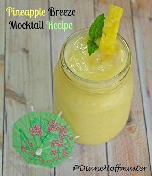 Pineapple breeze mocktail recipe
