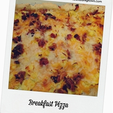 Gluten Free Breakfast Pizza