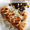 Honey Lime Shrimp Skewers