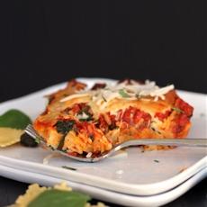 Ravioli and Spinach Lasagna #WeekdaySupper