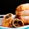 Peanut Butter Chocolate Chip Cookie Dough Egg Rolls