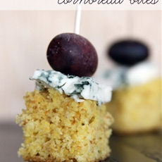 Rosemary and Olive Oil Cornbread Bites