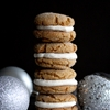 Ginger Cookie Sandwiches with Christmas Ale Buttercream