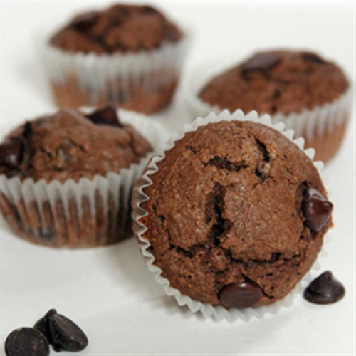 Peanut Butter Mocha Chocolate Chip Muffins