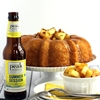 Pineapple Pale Ale Bundt Cake with Brown Sugar Glaze