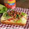 Easy Cooking with Open Face BLT Sandwiches