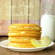 Waffle Apple Quesadillas